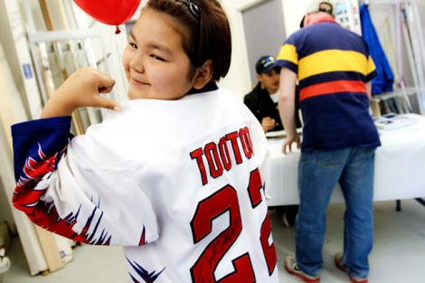 Despite being long gone, Jordin Tootoo is still beloved in his home territory of Nunavut.