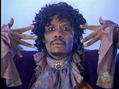"""""""Game, blouses."""" Chappelle's larger-than-life sketch characters seem to follow him everywhere he goes."""