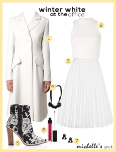 Winter white outfit: The Region Magazine